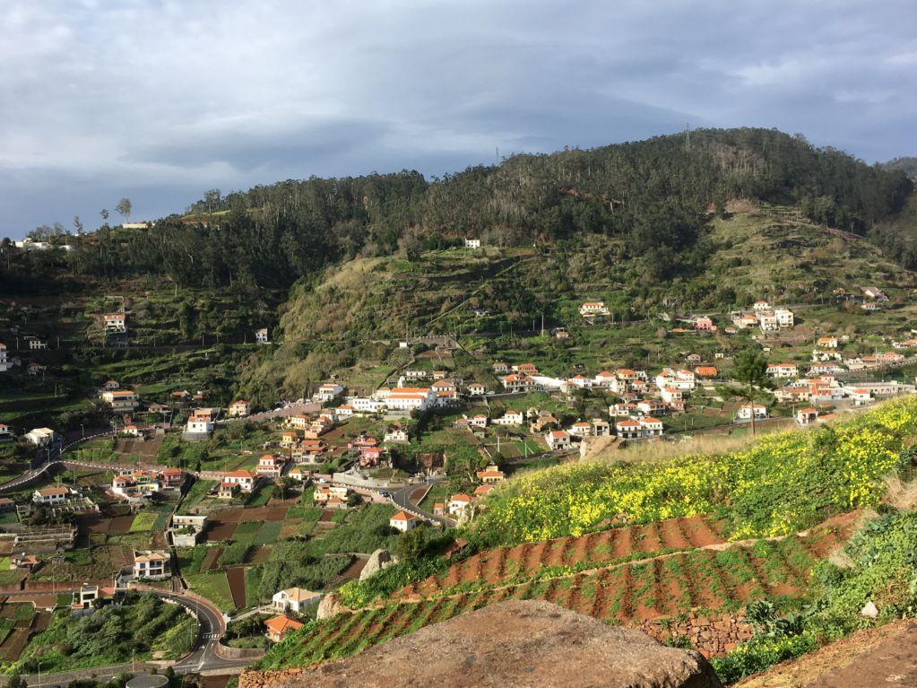 Driving in Madeira, Cabo Girao to Ribeira Brava