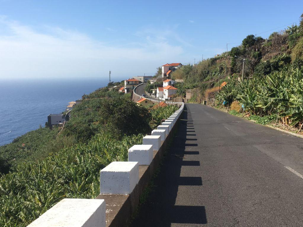 Road trip to Western Madeira, Calheta road