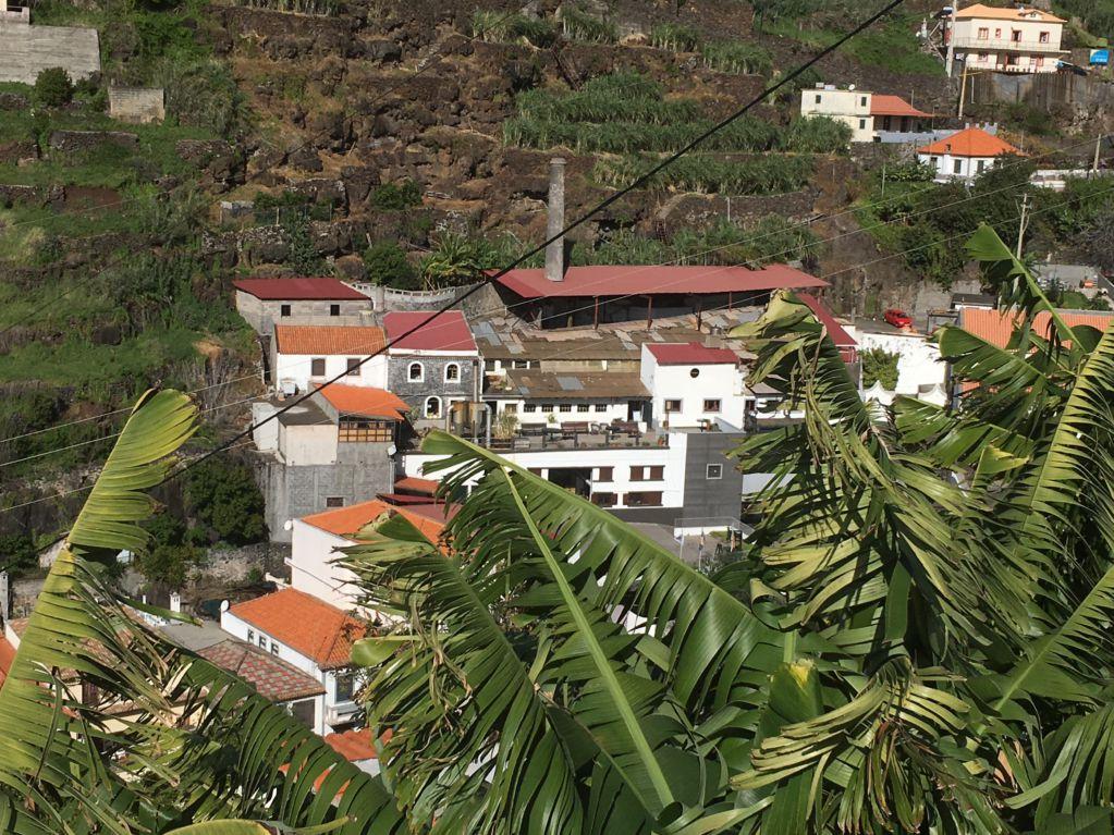 Calheta sugar mills from mountains