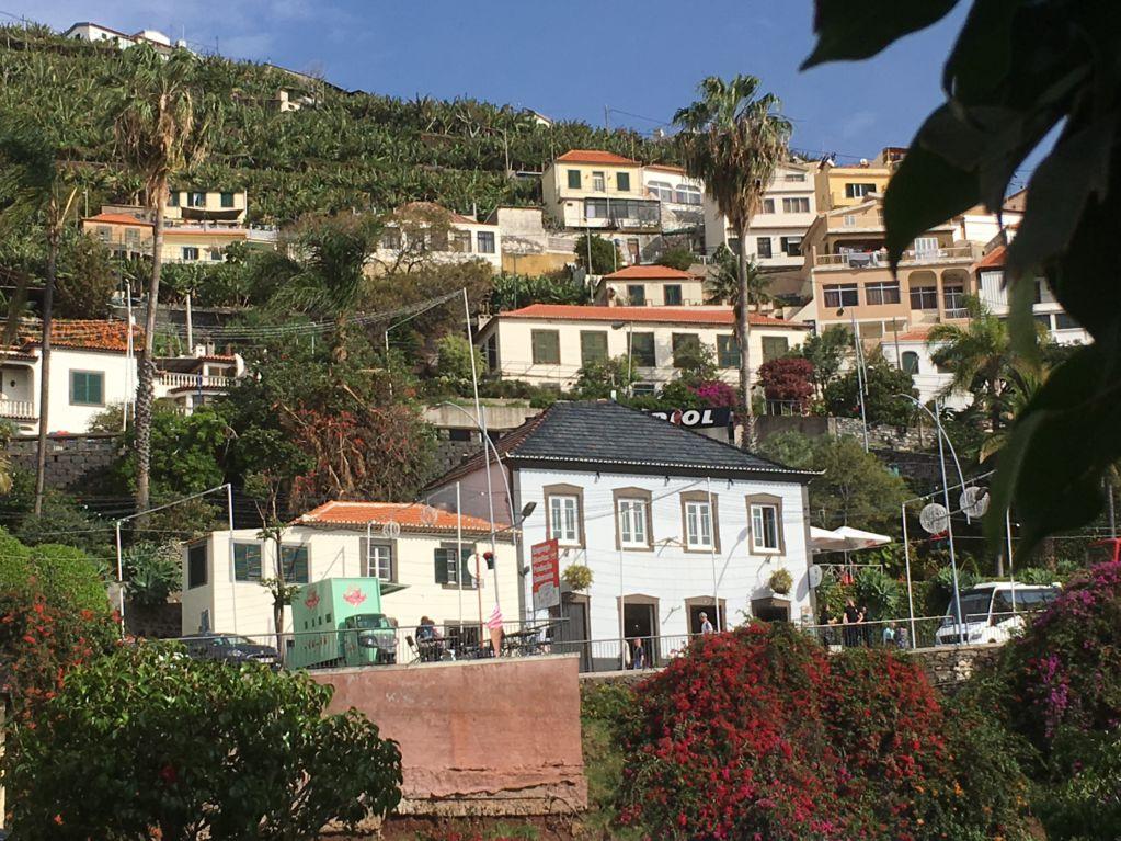 Camara de Lobos fishing village