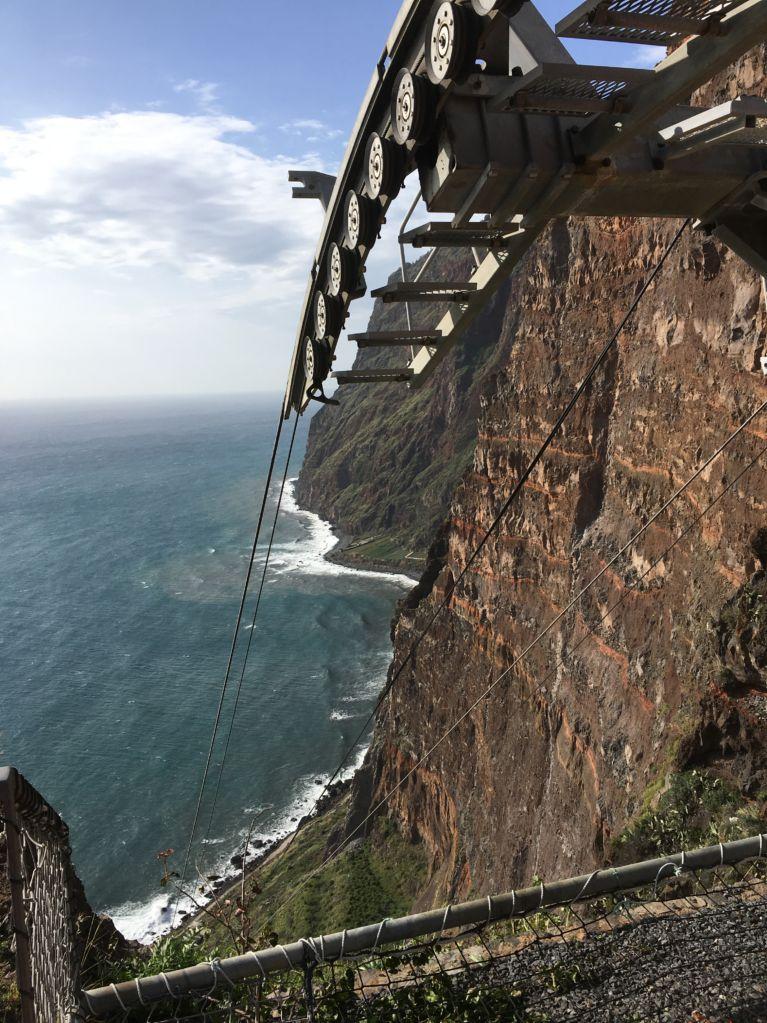 Capo Girao cable car