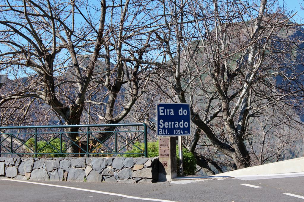 Eira do Serrado path to Curral das Freiras