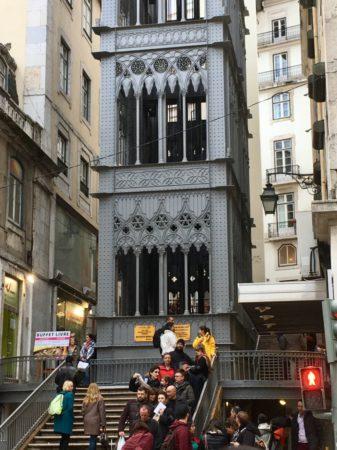 Elevador Sta Justa Lisbon