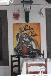 Fado painting, Rua de Santa Maria Funchal