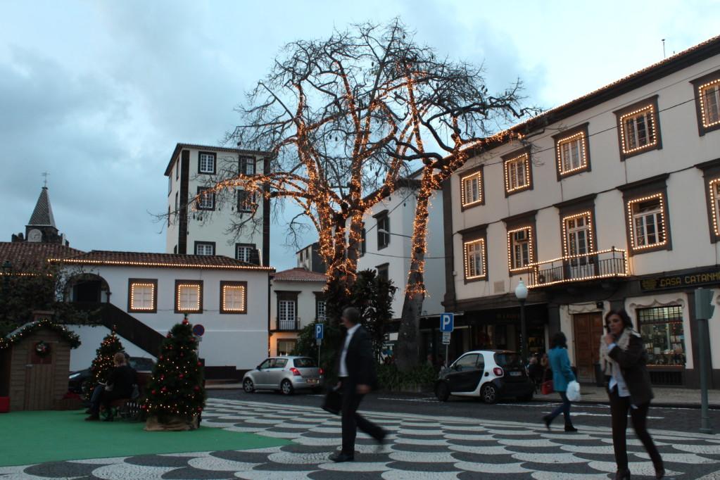 Funchal at dusk