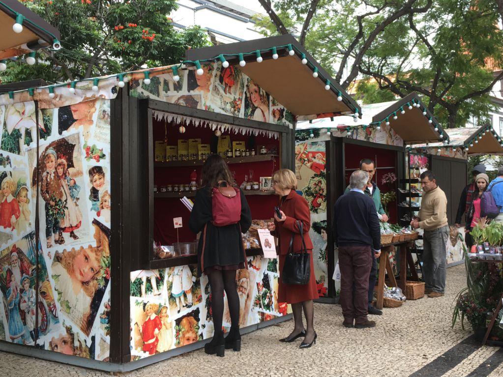 Funchal Christmas market