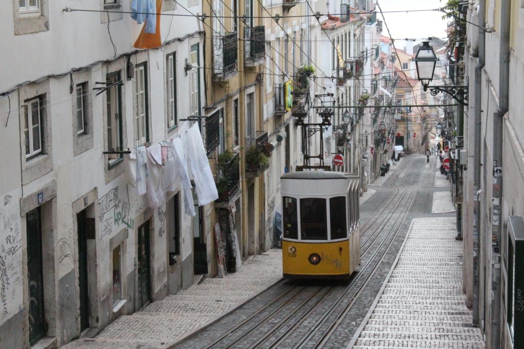 Lisbon elevador da Bica