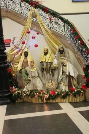 Lisbon nativity scene