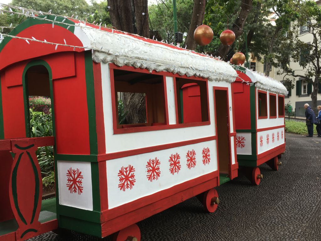 Madeira Christmas train