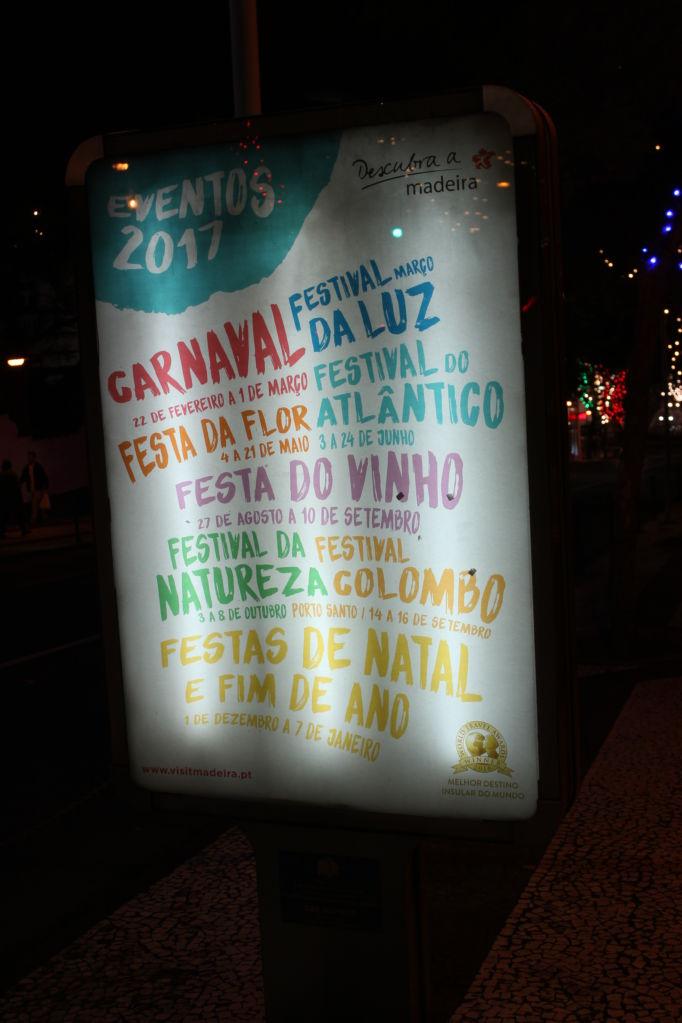 Madeira festivals 2017