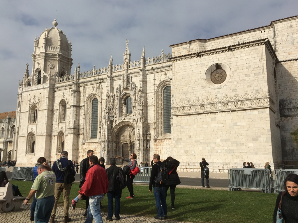 Mosteiro dos Jeronimos day trip from Lisbon to Belem