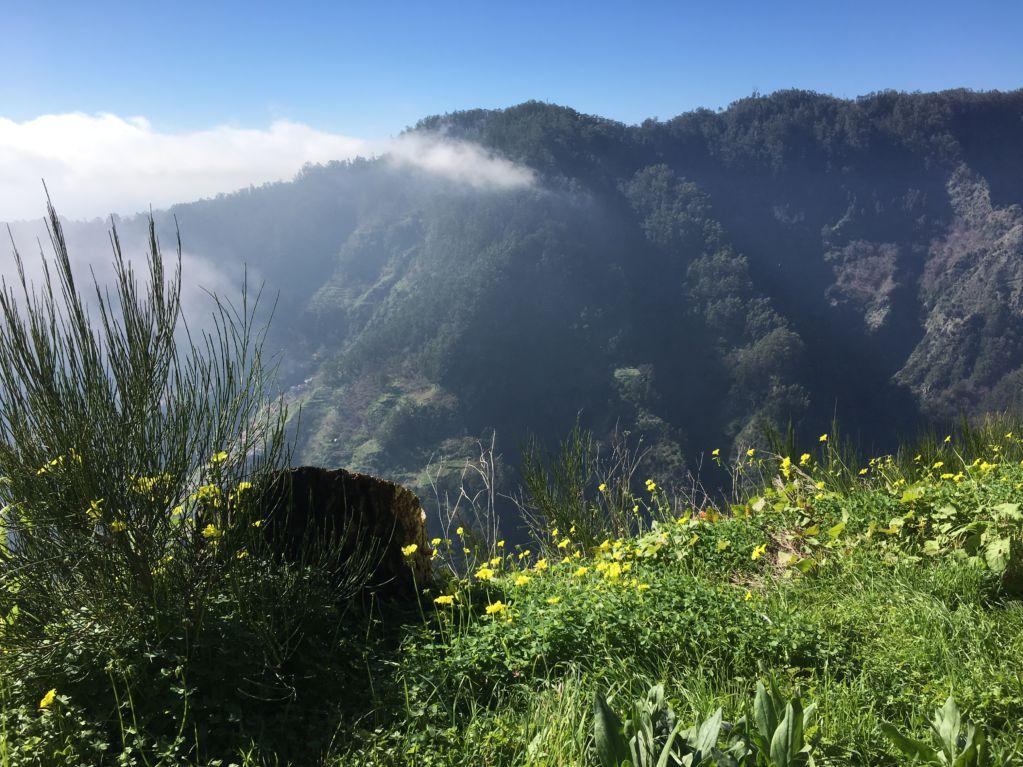 Mountain scenery from Eira do Serrado road