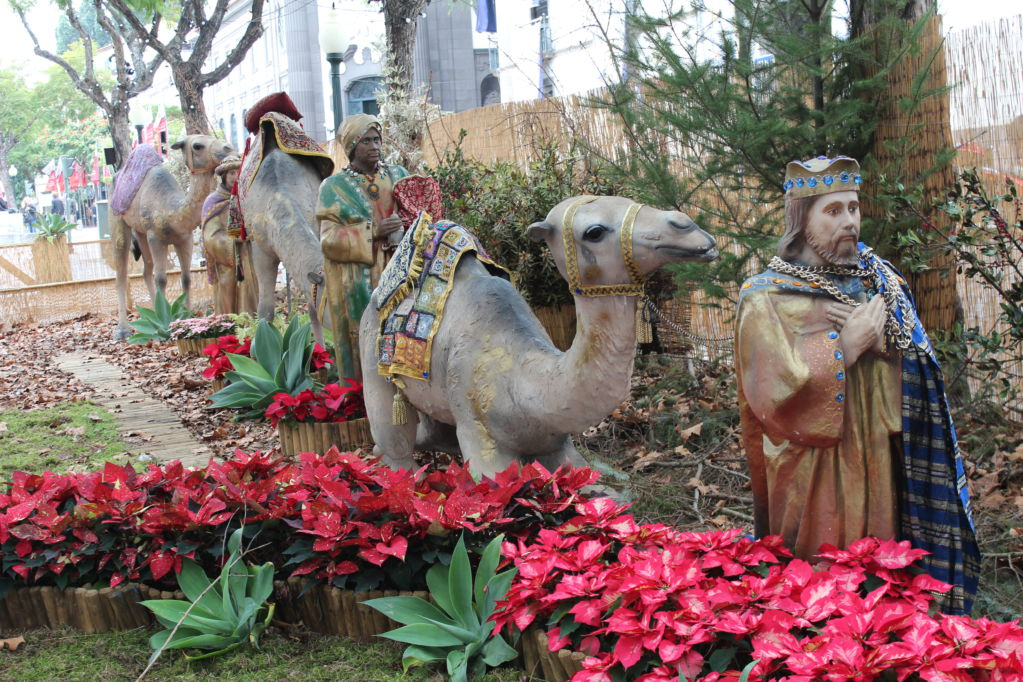Nativity scene in Funchal