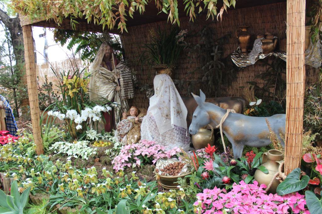 Nativity scene in Funchal