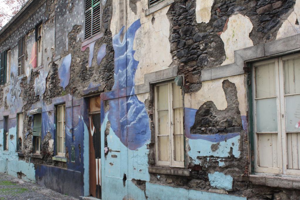 Old house, Rua de Santa Maria Funchal