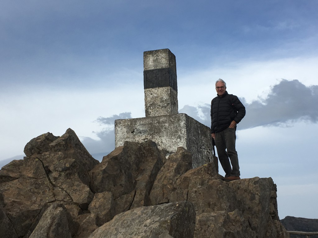 Santana day trip from Funchal, top of Pico do Arieiro