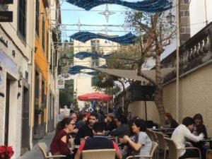 Ponta do Sol main street cafes