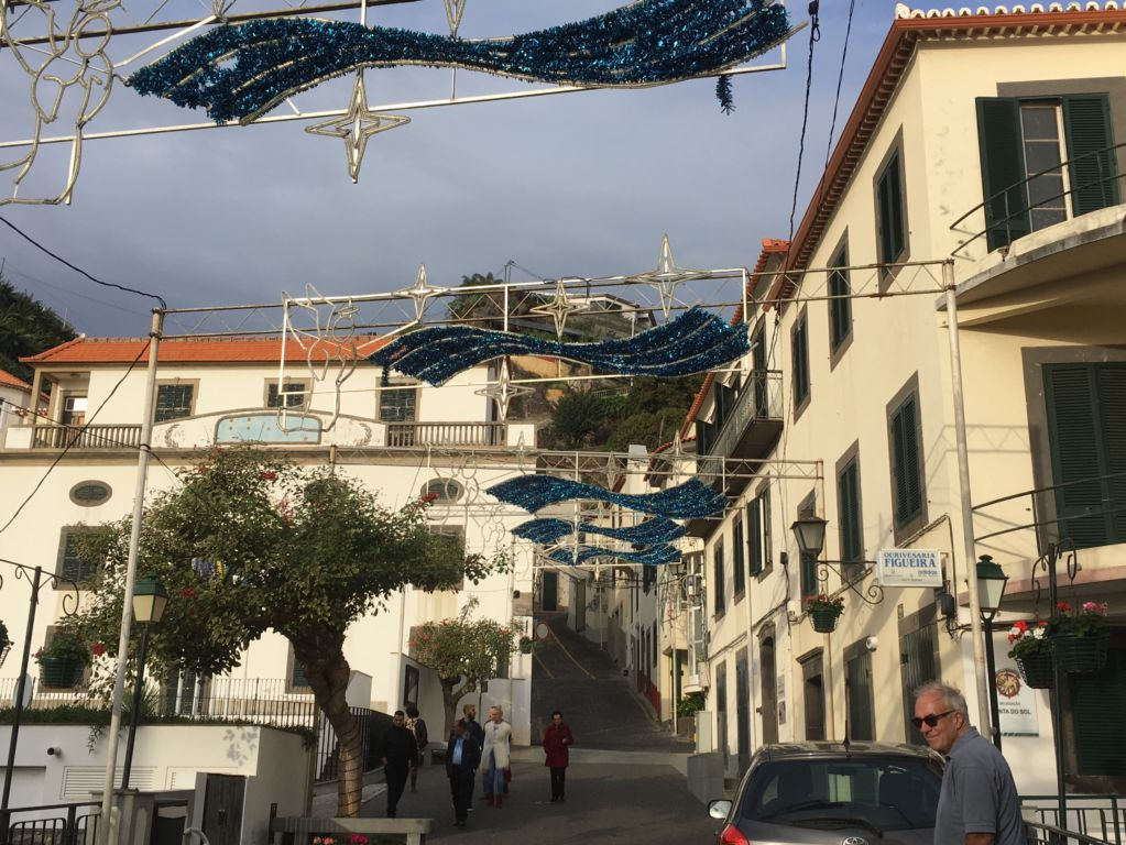 Ponta do Sol main street Western Madeira