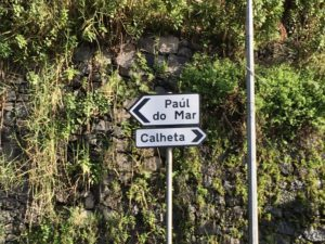 Road signs in Madeira