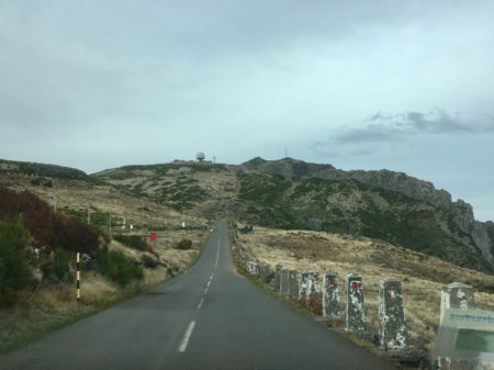 Road to Pico de Arieiro