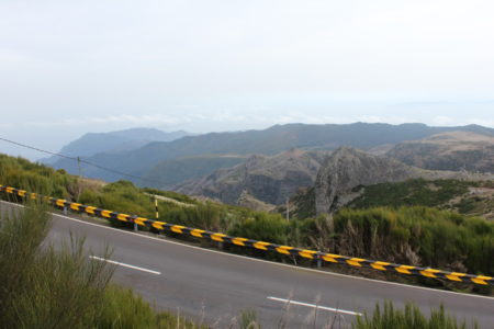 Road to Pico do Arieiro