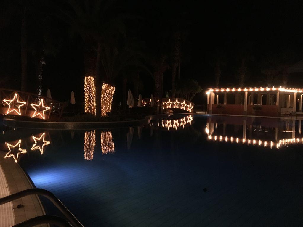Royal Savoy Funchal evening lights
