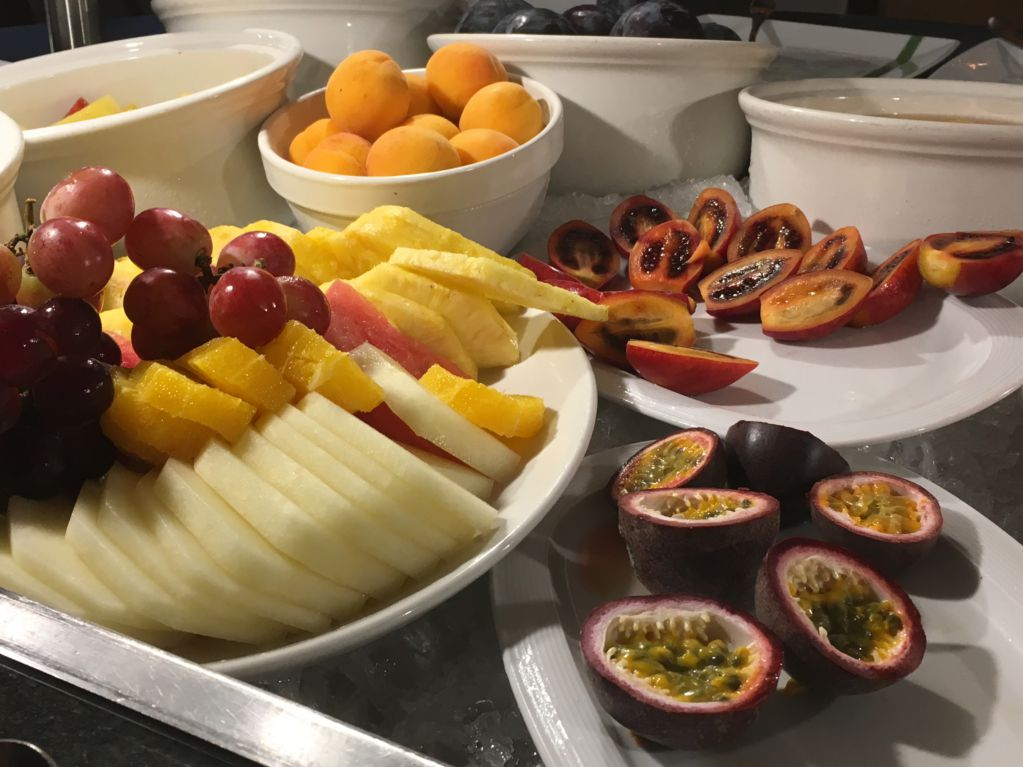 Royal Savoy Funchal fruits for breakfast