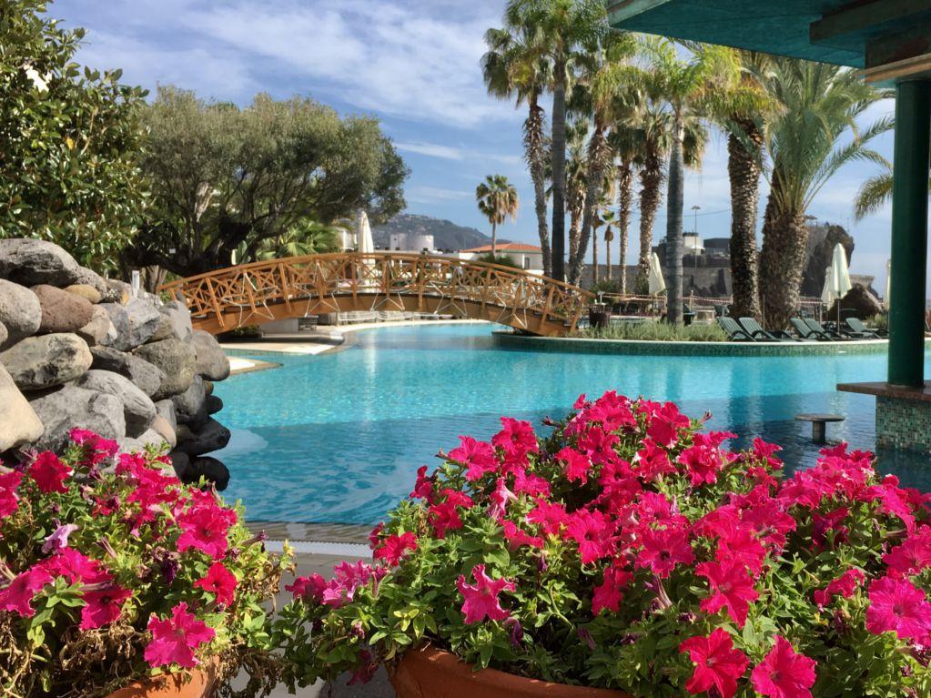 Royal Savoy Funchal pool and gardens