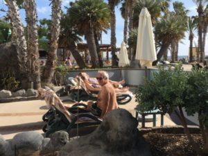 Royal Savoy Funchal pool area sunbather