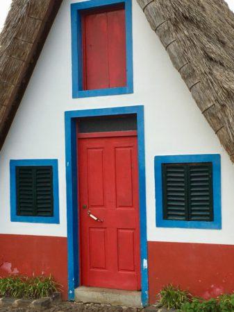 Santana house facade