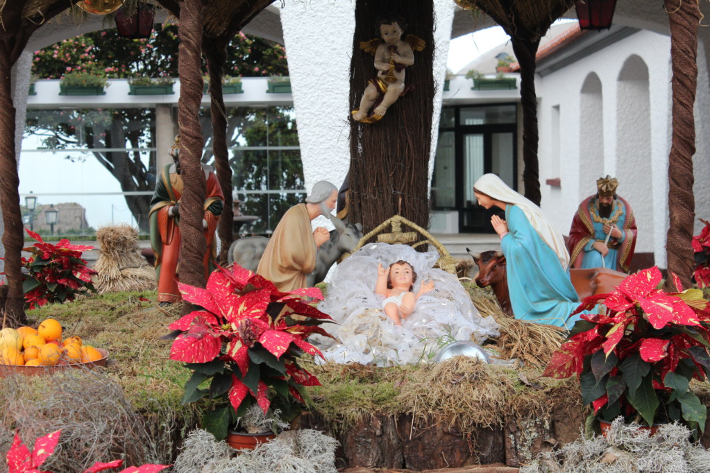 Santana nativity scene