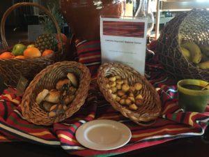 Savoy Saccharum breakfast decoration