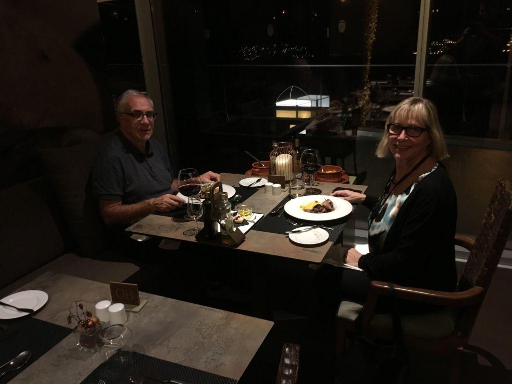 Savoy Saccharum dinner, Calheta