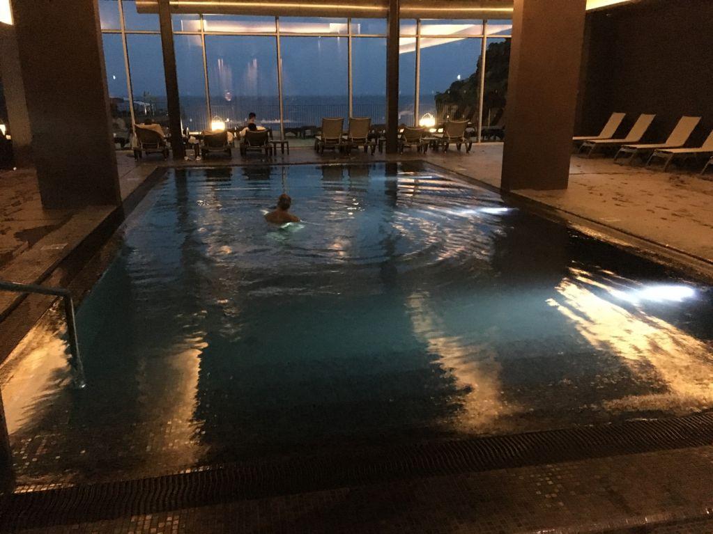 Savoy Saccharum indoor pool Madeira