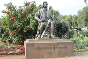Statue of Cristovao Colombo
