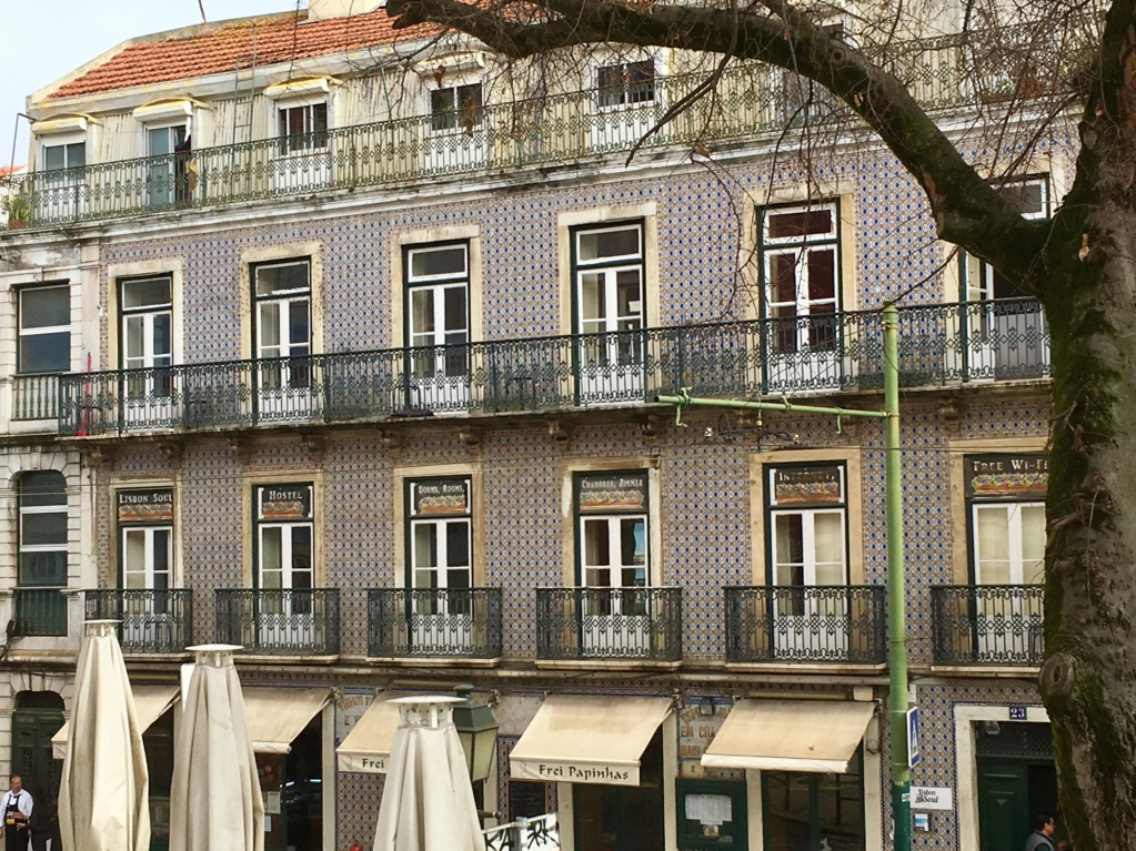 Typical Lisbon building