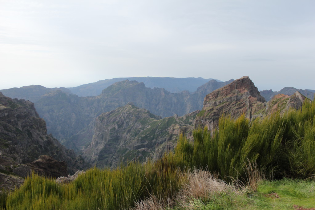 View from Pico do Arieiro Madeira