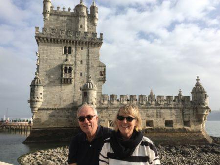 Visiting the Torre de Belem