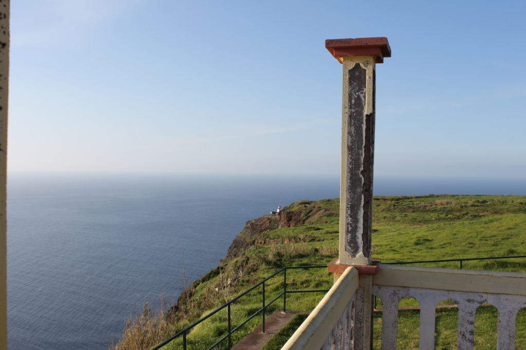Walking track to Ponta do Pargo lighthouse