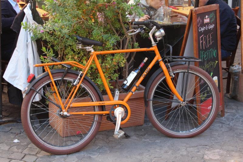 A Rome bike