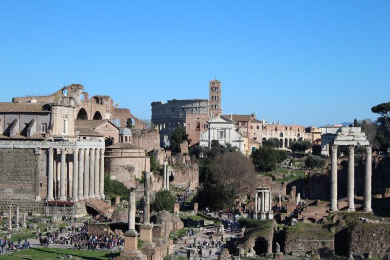 Forum Romanum and Colosseum, Rome