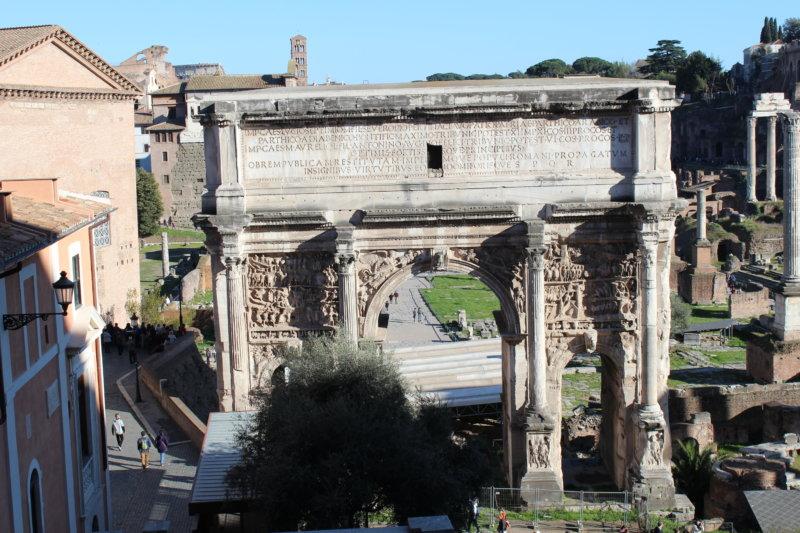 Forum Romanum arch, Rome