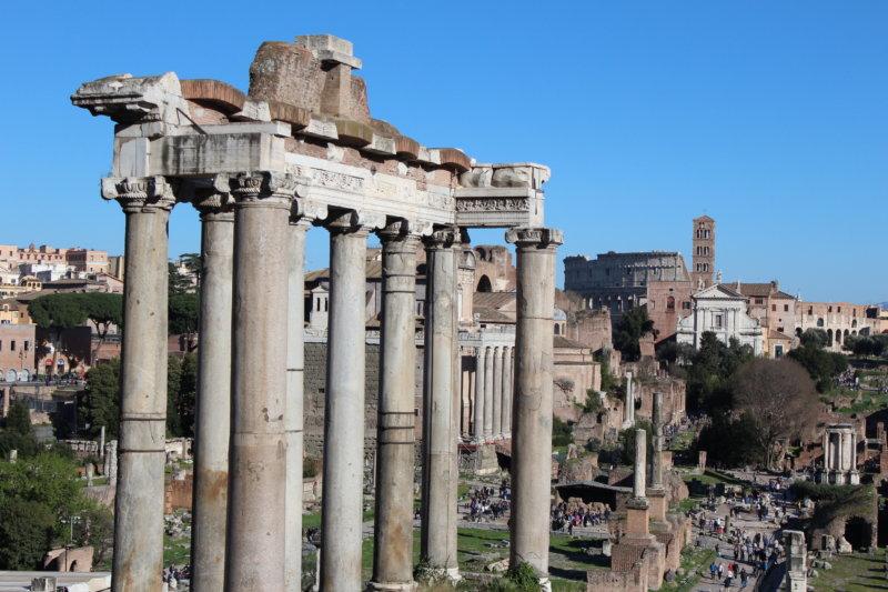 Forum Romanum Top 10 sights in Rome