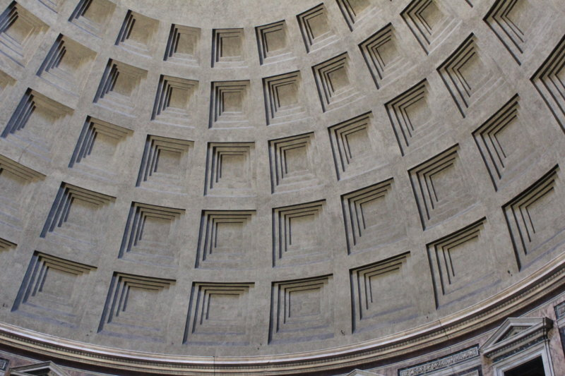 Interior of Pantheon, Rome