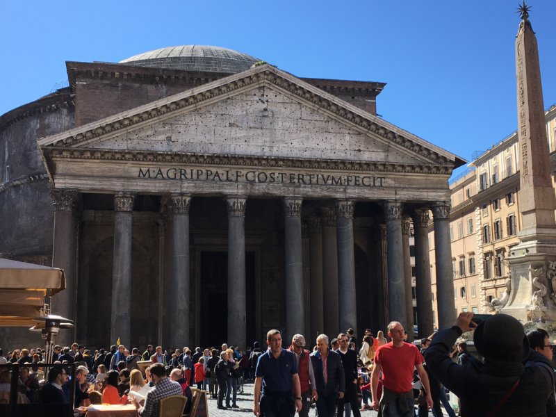 The Pantheon, Top 10 sights in Rome