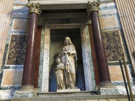 Pantheon interior, Rome