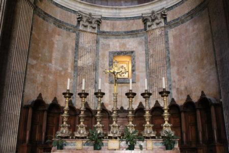 Pantheon interiors, Rome
