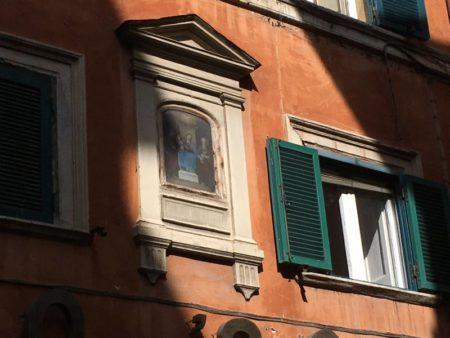 Piazza Navona house, Rome
