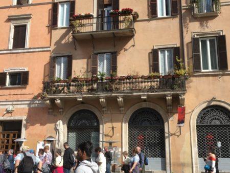 Piazza Navona street life
