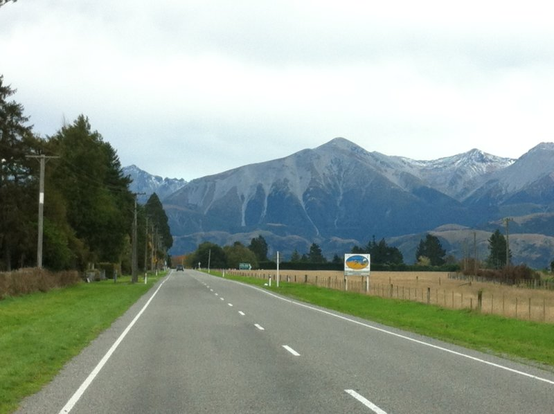 Road trip Christchurch to Greymouth